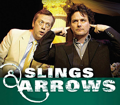 Slings and Arrows may return, says one of its three creators