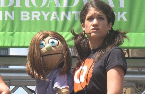 Broadway in Bryant Park: Avenue Q