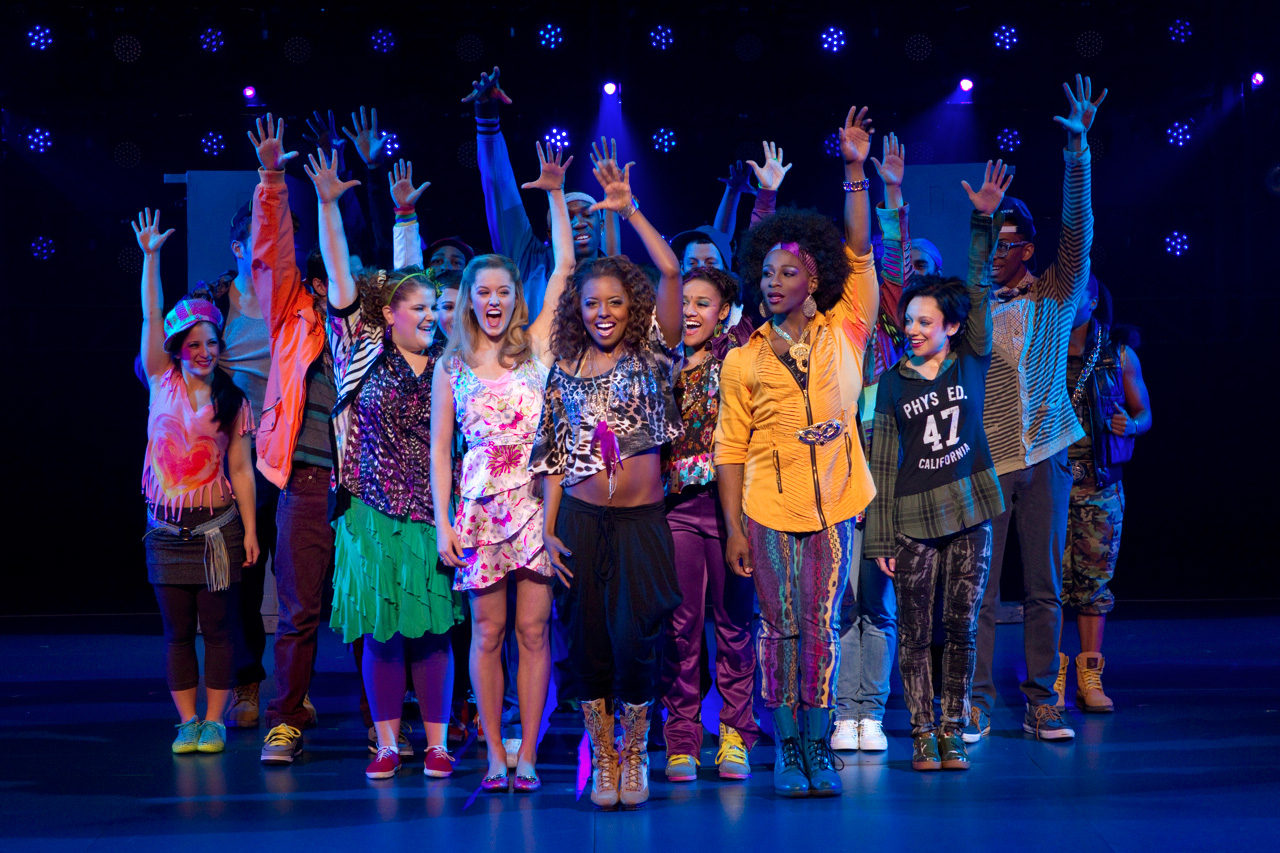 Bring it on the musical on broadway at the st james for The broadway