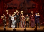 """The Mystery of Edwin Drood"" The suspects stand on stage so that the audience can choose the murderer."