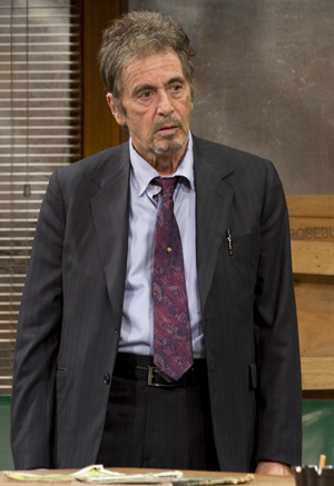 a review of the first dialogue in david mamets play It should be interesting to see al pacino team up with david mamet (and based on his well-known play katie couric witnessed the ugly side of america first.