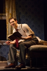Cory Michael Smith as fledgling writer