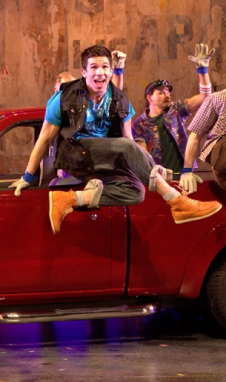 Jon Rua in Hands on A Hardbody on Broadway