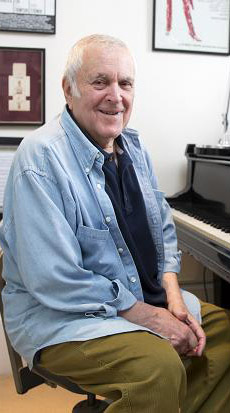 Songwriter John Kander (Cabaret, Chicago, Scottsboro Boys) turns 86
