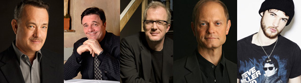 2013 Best Actor Play: Tony Tom Hanks, Nathan Lane, Tracy Letts, David Hyde Pierce, Tom Sturridge