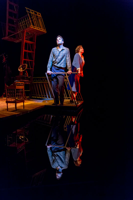 the glass menagerie fire escape essay Tennessee williams' the glass menagerie: tom & laura analysis  they both stumbled on the fire escape which served as a gateway, physically and mentally.
