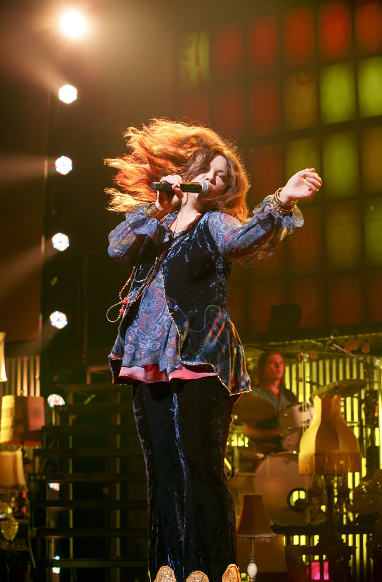 A night with janis joplin broadway review new york theater for Youtube janis joplin mercedes benz