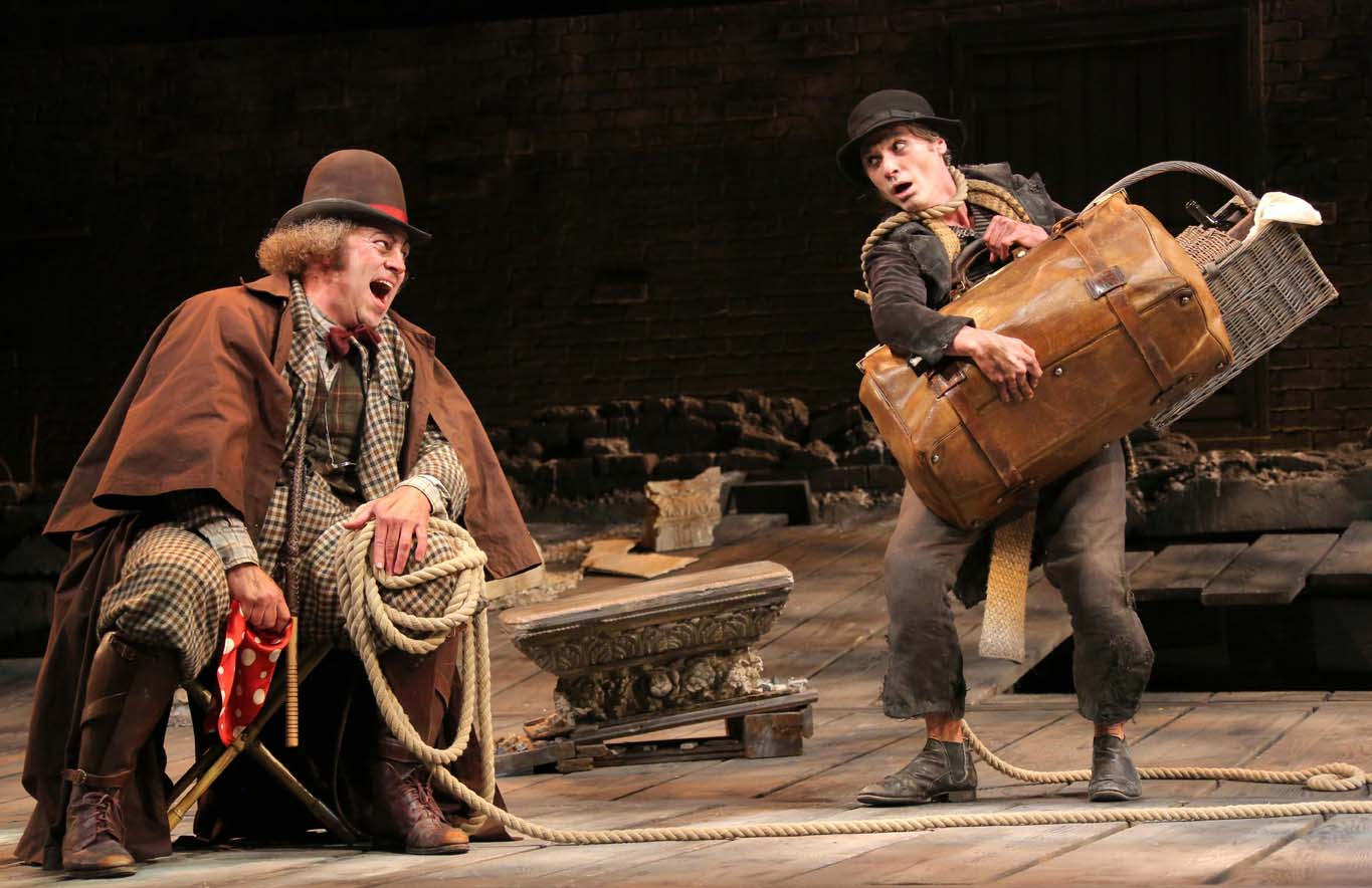 a review of the new york city production of waiting for godot Waiting for godot (review) new york city 11 april 2009 anthony page's waiting for godot made every attempt to obliterate the existential and absurd.