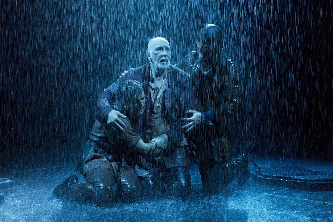 Frank Langella as King Lear