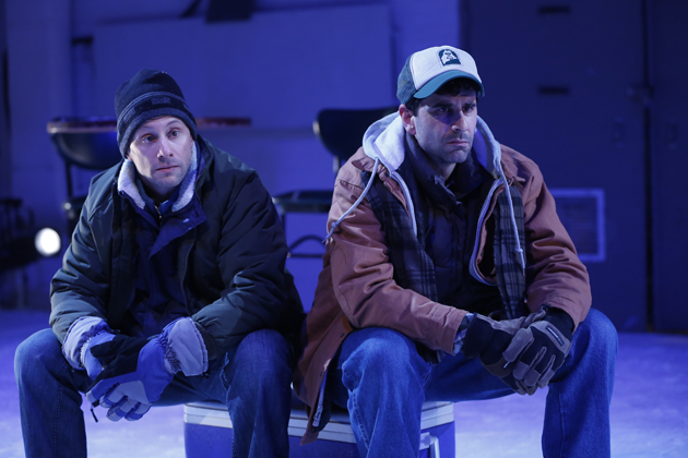 Kevin Isola and John Cariani (playwright and actor), in Almost, Maine