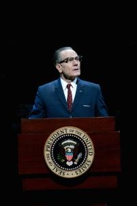 Bryan Cranston as President Lyndon Baines Johnson in All The Way, 2014