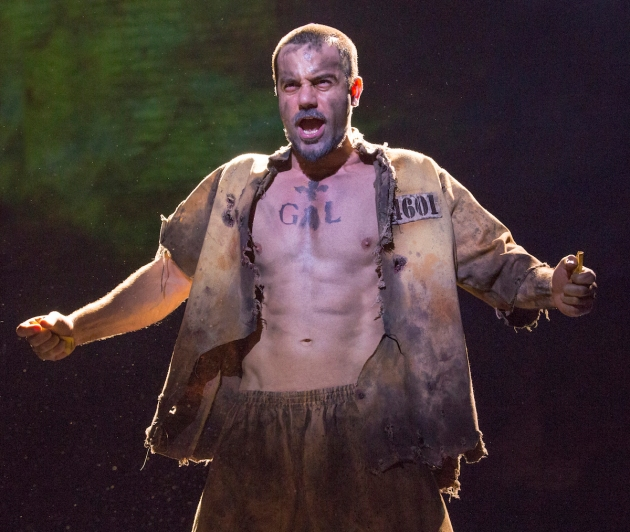 Ramin Karimloo in Les Miserables