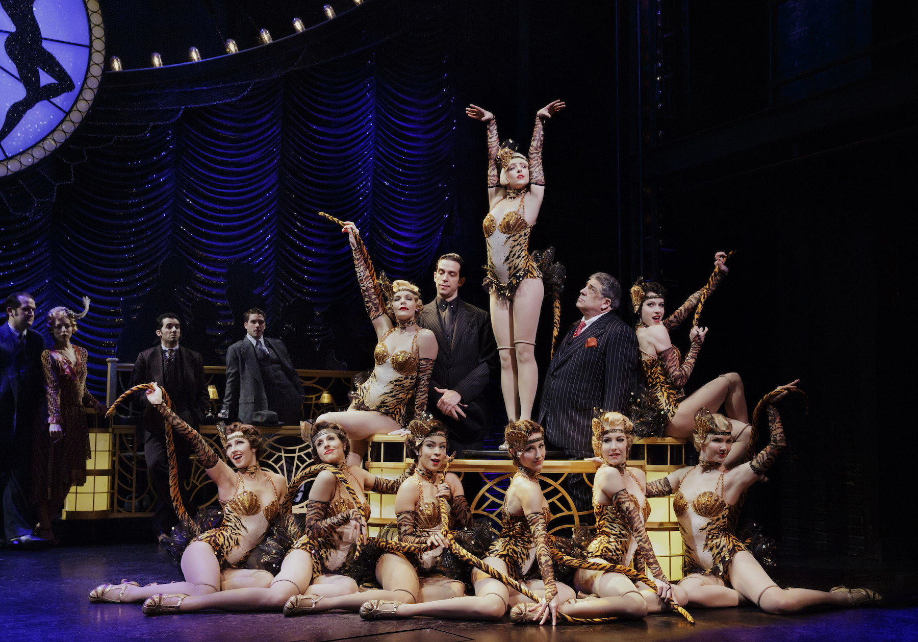 Bullets Over Broadway Reviews And Photographs New York