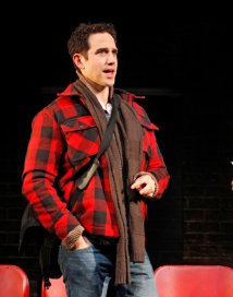 Fontana in Sons of the Prophet, his first show after his accident