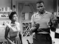 Ruby Dee and Sidney Poitier in A Raisin in the Sun