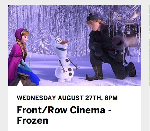 Frozenscreening