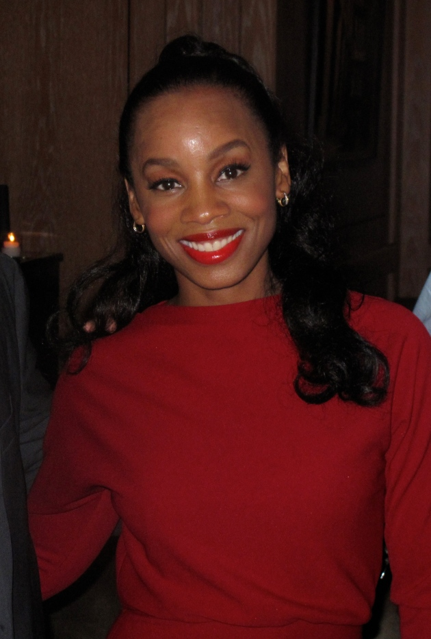Anika Noni Rose at Side Show cocktail party