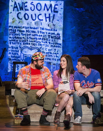 Daniel Everidge, Barrett Wilbert Weed and Nick Blaemire as roommates and founders of Found