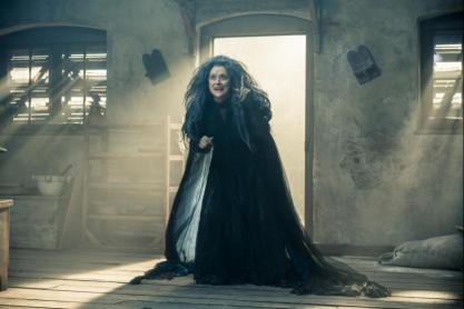 Meryl Streep as the witch
