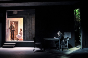 Ben Rosenfield, Sophia Anne Caruso  and Merritt Wever in The Nether