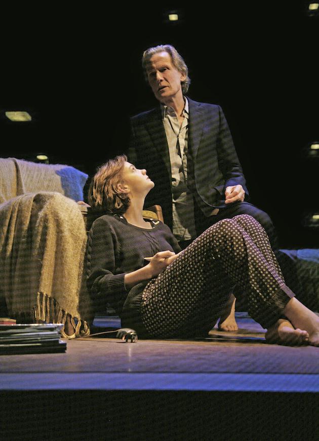 Bill Nighy and Carey Mulligan