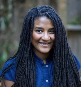 "Lynn Nottage, one of the seven playwrights of ""Theatre for One: I'm Not the Stranger You Think I Am"""