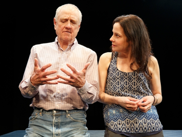 Heisenberg New York City Center - Stage II Cast List: Mary-Louise Parker Denis Arndt Production Credits: Mark Brokaw (director)  Other Credits: Written by: