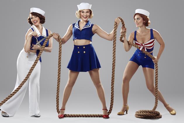 DAMES AT SEA - three ladies