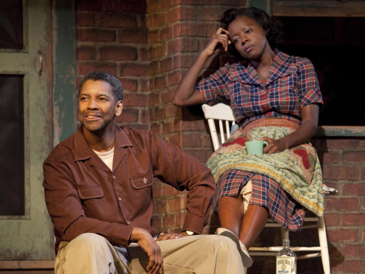 Fences Movie Trailer Play Review Denzel Adapts August