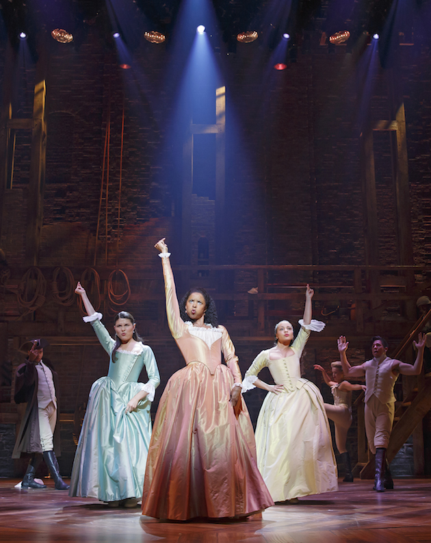 Phillipa Soo, renee Elise-oldsberry and Jasmine-Cephas-Jones