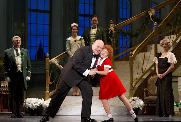 Annie the Musical Issie Swickle Annie