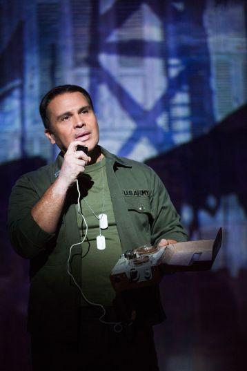 Eliseo Roman in ON YOUR FEET! (c) Matthew Murphy
