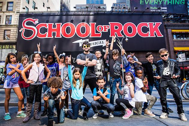 SchoolofRockwithAlexBrightman