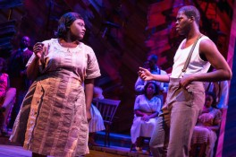 Color Purple 6 Danielle Brooks and Kyle Scatliffe