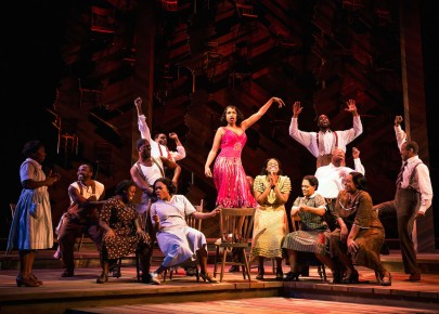 Color Purple 7 Jennifer Hudson and the company