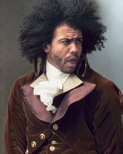 Daveed Diggs as Thomas Jefferson in Hamilton, 2015