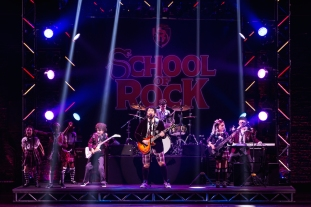 School of Rock 6 Alex Brightman and School of Rock kids