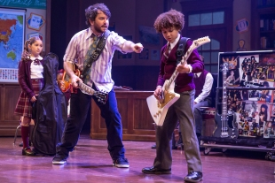 School of Rock 7 Evie_Dolan__Alex_Brightman__and_Brandon_Niederauer