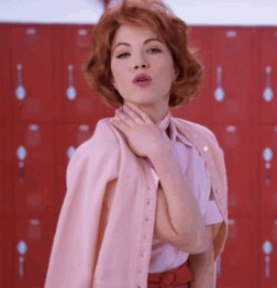 Carly Rae Jepsen as Frenchy in Grease