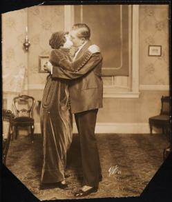 Gail Kane as Helena and George Nash as John Madison in The Miracle Man 1914