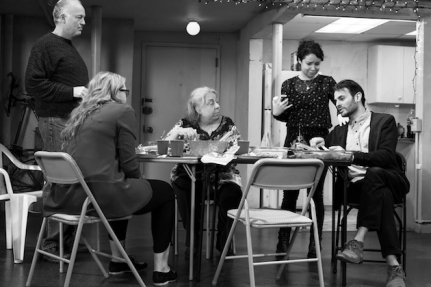 THE HUMANS 4 Reed_Birney__Jayne_Houdyshell__Sarah_Steele__Arian_Moayed__Cassie_Beck._Photo_by_Brigitte_Lacombe._