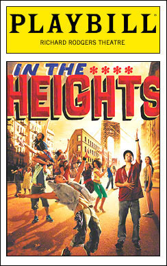 Lin manuel miranda s in the heights and the broadway for Fun shows to see in nyc