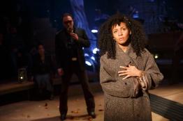 Patrick Page as Hades and Nabiyah Be as Eurydice