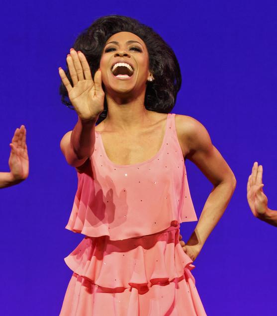 Allison Semmes as Diana Ross in Motown