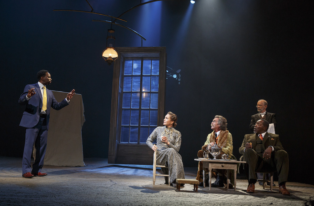 a review of a production of chekhovs the cherry orchard by the oreilly theater Couplets on coupling  their attempts to produce a fleeting sound effect mentioned exactly once in chekhov's the cherry orchard  engrossing premiere production from theater .