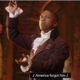 Leslie Odom Jr. as Aaron Burr