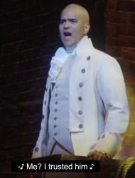 Christopher Jackson as George Washington