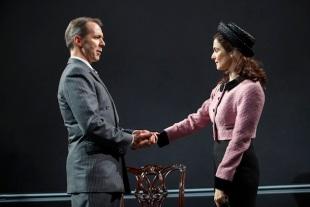 Paul Niebanck and Rachel Weisz