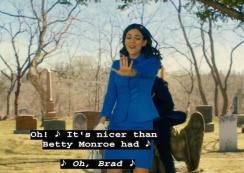 Victoria Justice (Janet Weiss) Ryan McCartan (Brad Majors) sing Damnit Janet