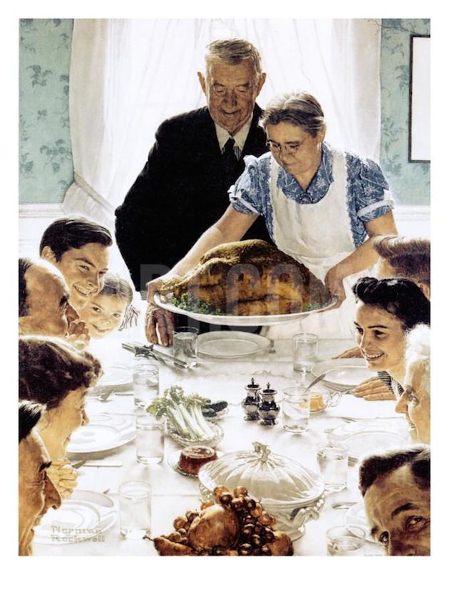 freedom-from-want-norman-rockwell
